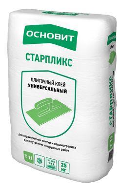 Основит Т-11 СТАРПЛИКС плиточный клей (25 кг)