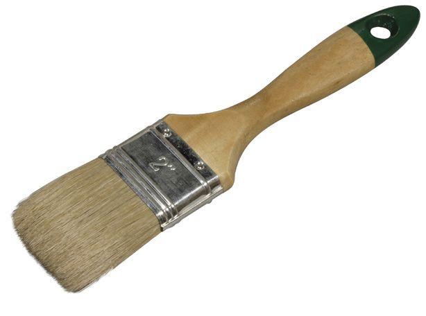 Кисть плоская (флейц) натуральная щетина