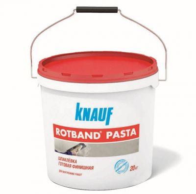 КНАУФ РОТБАНД ПАСТА- шпаклевка готовая финишная (5; 20 кг)