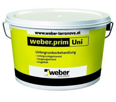Weber prim uni - грунт акриловый (20 кг)