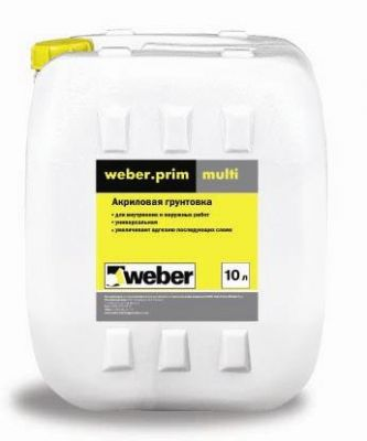 Weber prim multi - Грунт универсальный (10 л)