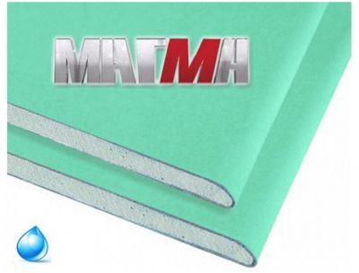 гипсокартон влагостойкий гклв магма 2500х1200х9,5 мм