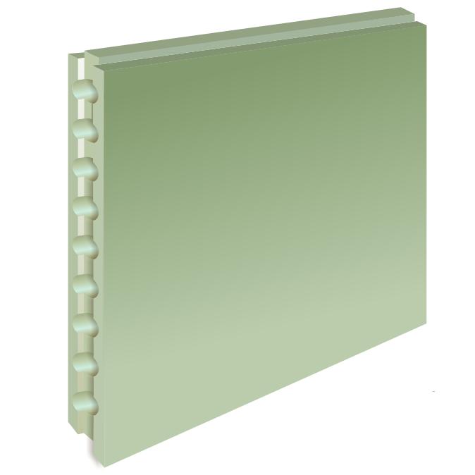 ПГП влагостойкие «Гипсополимер» пустотелые 80 мм